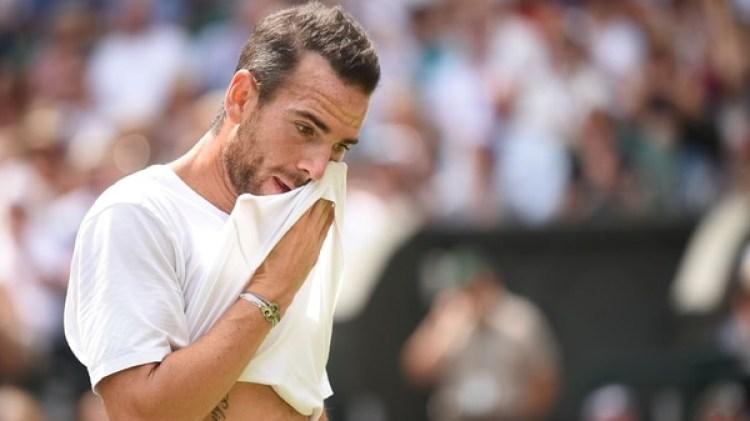 El francés no pudo con Federer