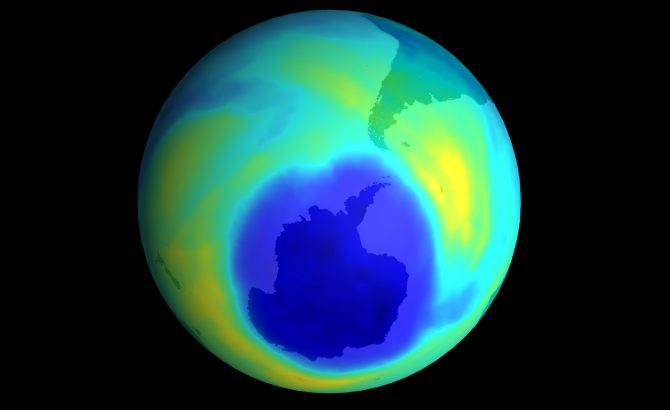 Descubren el posible origen de las emisiones que destruyen la capa de ozono
