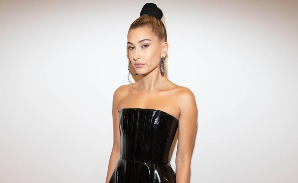 La modelo Hailey Baldwin en una fiesta celebrada en Nueva York el 23 de mayo de 2018.