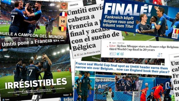 Las portadas internacionales