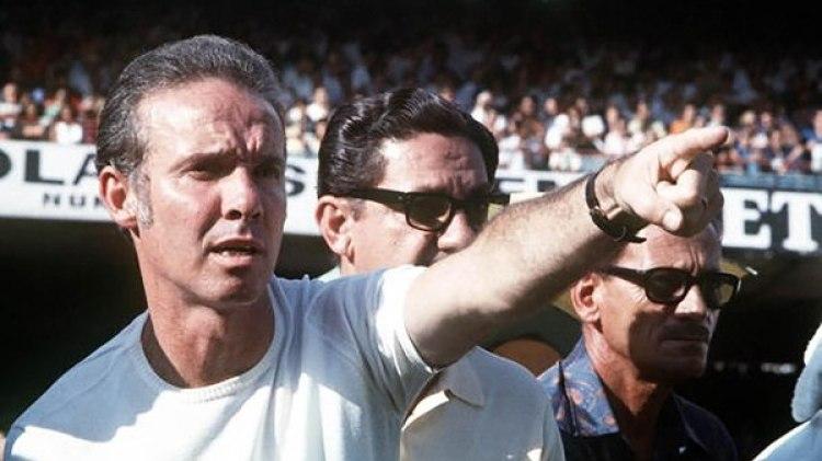 Mario Zagallo fue el DT del Brasil campeón de 1970 (Getty Images)