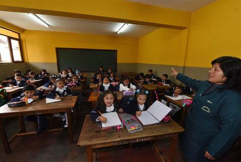El reinicio de las clases aún no está totalmente definido. Foto: Miguel Carrasco