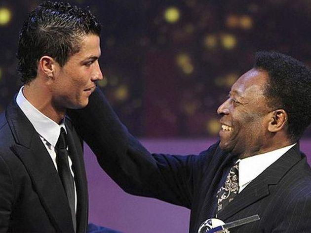 Pelé y su felicitación a Cristiano Ronaldo