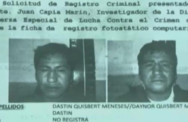 Delincuente afirmaba ser chofer del ministro Romero