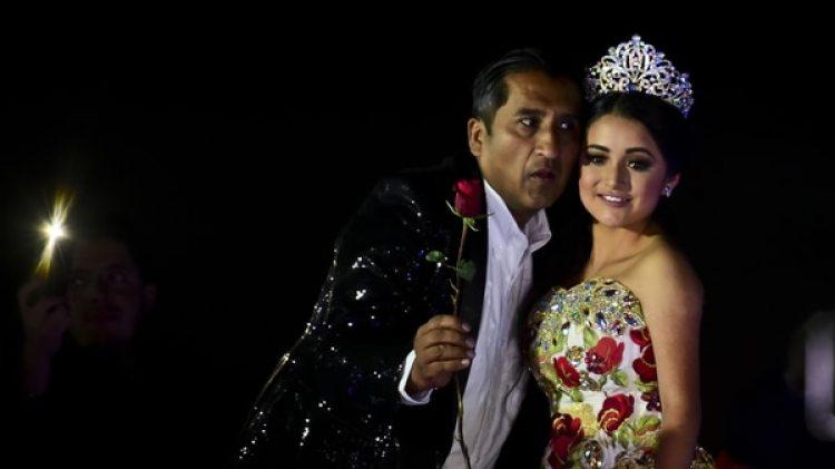 El festejo de Rubí que dio la vuelta al mundo (Foto: AFP)