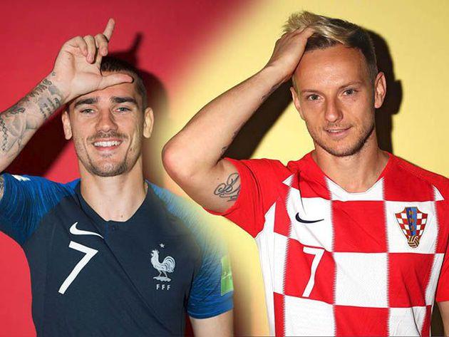 Ya se conocen los uniformes que usarán Francia y Croacia en la final