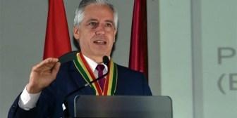 """Alboroto con """"Bolivia dijo No"""" en un discurso del Vicepresidente"""