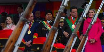 """Evo advierte de las nuevas """"invasiones"""" en la gesta libertaria de La Paz"""