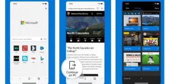 Microsoft Edge prueba la búsqueda visual en iOS