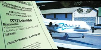 Fiscalía solicita la detención para dueño de compañía que operaba jet incautado