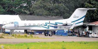 Gobierno aguarda informe final sobre el 'jet abandonado'; indagan a la tripulación