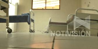 Una bomba de tiempo: Hospital de Parotani se cae a pedazos