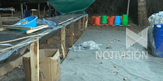 Felcn interviene laboratorio de cocaína en comunidad de San Pedro