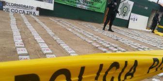Detectan camión con más de 300 kilos de droga camuflada en doble fondo