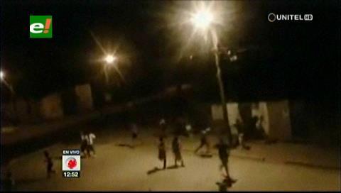 Ataque de pandilleros en el barrio 16 de Julio dejó varios heridos y 11 detenidos