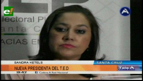 Sandra Kettels Vaca al mando del TED de Santa Cruz