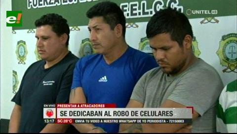 """Desbaratan banda de delincuentes que iban al """"gym"""" de día para robar celulares en la noche"""