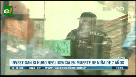 Denuncian muerte de una menor de 13 años por supuesta negligencia médica en La Paz