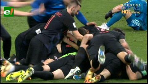 Ronda de penales: Croacia eliminó Rusia, anfitrión del Mundial