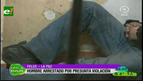 Hombre es arrestado por presunta violación a su hija