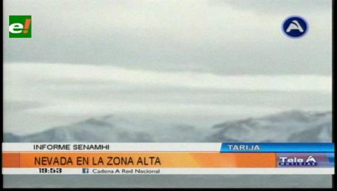 Tarija registró 2,6 grados bajo cero, una de las temperaturas más bajas del año