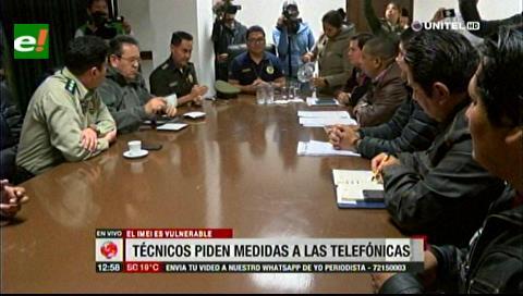 Técnicos de celulares se reunieron con autoridades para trabajar en conjunto