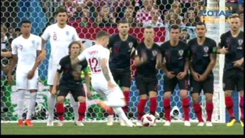 Croacia empata a Inglaterra y lo obliga al alargue
