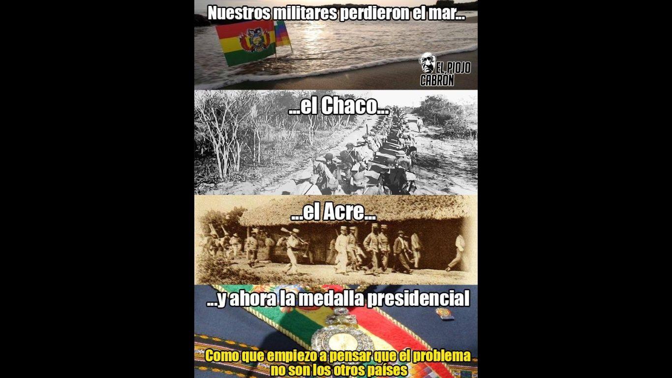 Símbolos patrios de Bolivia se perdieron por