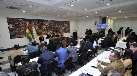 Reunión de gabinete ampliado de gabinete. APG