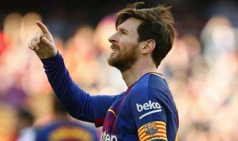 El jugador Lionel Messi, tras anotar el gol. Foto: AFP