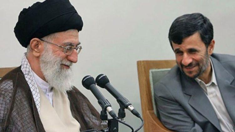El líder supremo Alí Khamenei junto al ex presidente Mahmud Ahmadinejad (Imagen de archivo)