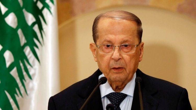 Michel Aoun, presidente del Líbano (AFP)