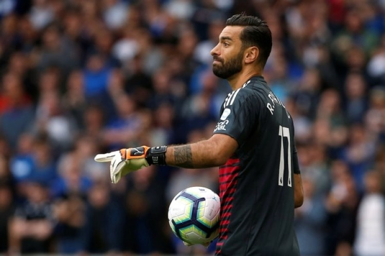 Rui Patricio, arquero del Wolverhampton, usó el número 11 en el partido ante Everton (Reuters)