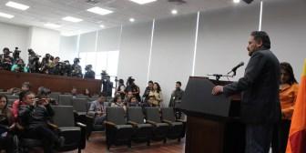 """Gobierno estrena amplia sala de prensa en palacio """"Casa Grande del Pueblo"""""""