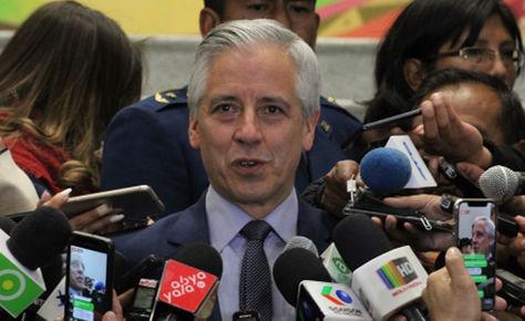 El vicepresidente Álvaro García Linera