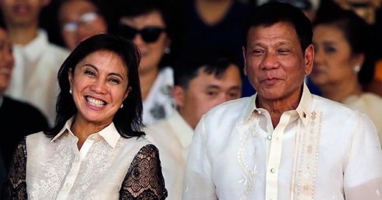 Leni Robredo y Rodrigo Duterte
