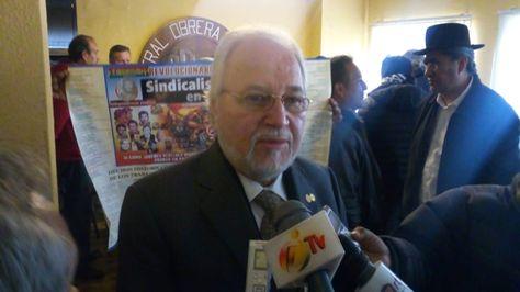 El relator de la Comisión Interamericana de Derechos Humanos (CIDH) Francisco José Eguiguren