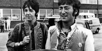 El selfie de los hijos de John Lennon y Paul McCartney es una explosión de nostalgia