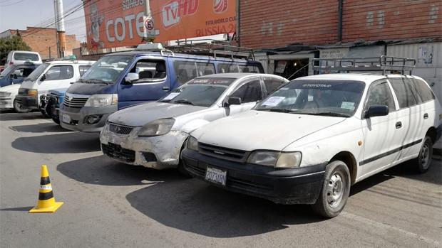 Recuperan en Tarija un vehículo que fue robado en El Alto