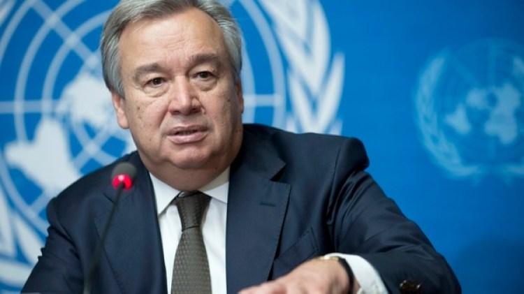 António Guterres expresó su preocupación por el masivo flujo migratorio de venezolanos