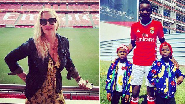 Madonna incursionará en el futbol gracias a su hijo David Banda
