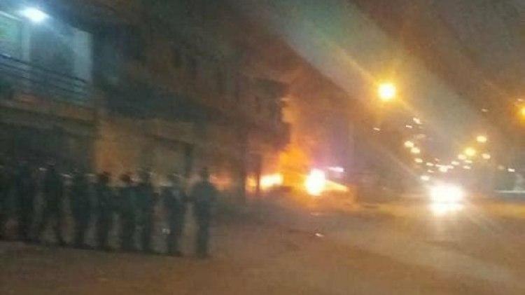 Las protestas se extendieron hasta entrada la noche (@NTN24ve)