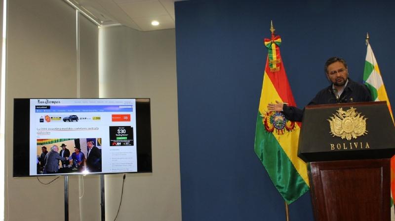 Rada dice que la CIDH desestimó medidas cautelares contra la reelección de Evo