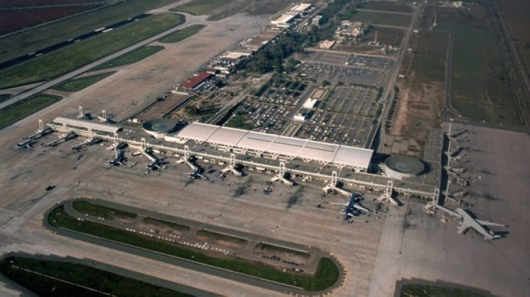 El aeropuerto de Santiago de Chile