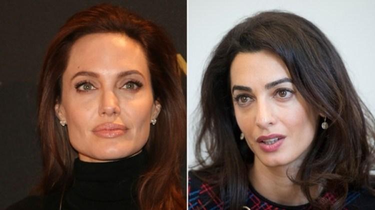 Angelina Jolie está celosa por el papel de Amal Clooney como activista (The Grosby Group)
