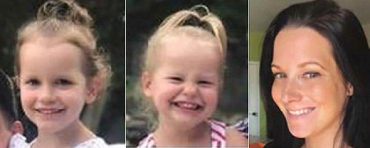 Las niñas y su madre, asesinadas (AP)