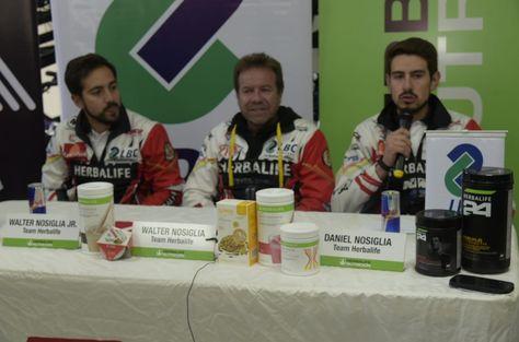 Los Nosiglia en la conferencia de prensa brindada este martes. Foto: Christian Cardénas