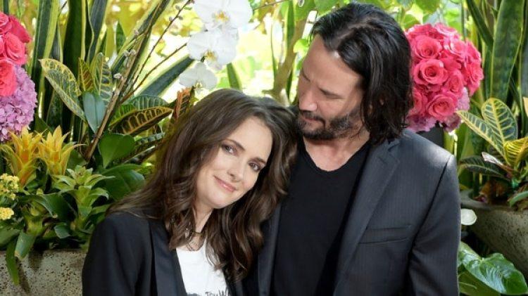 Los actores protagonizan la nueva comedia romántica, Destination Wedding (AFP)