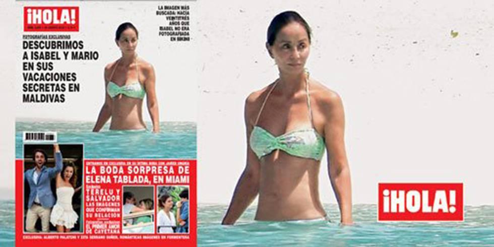 Isbael Preysler bikini