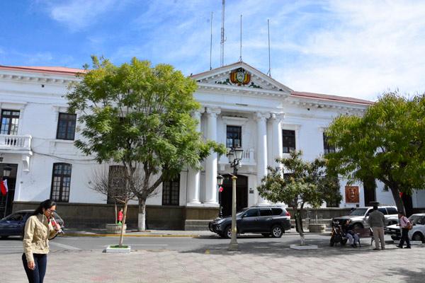 Gobernación de Tarija fija el techo presupuestario para la gestión 2019